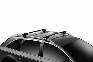 Coffre De Toit Clio 4 : barres de toit renault clio 4 break depuis 02 2013 toit avec barres thule squarebar acier ~ Melissatoandfro.com Idées de Décoration