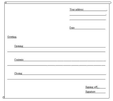 guidelines  write  informal letter teacher nuhas