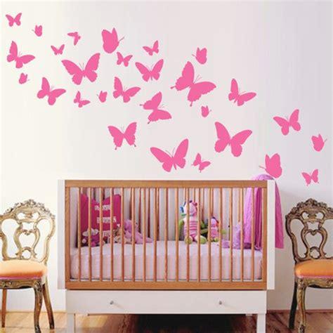 muurstickers kinderkamer muursticker vlinders babyroom