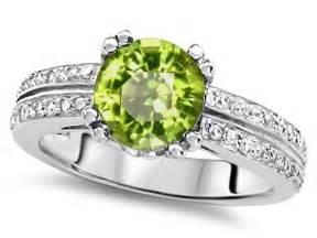 peridot wedding rings peridot engagement rings review
