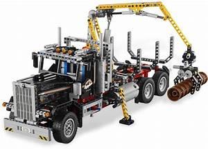 Lego Technic Camion : lego technic 9397 pas cher le camion forestier ~ Nature-et-papiers.com Idées de Décoration