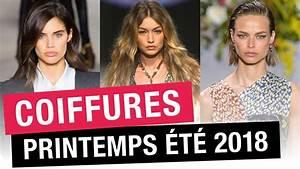 Mode Printemps 2018 : coiffures printemps t 2018 15 coupes de cheveux ~ Nature-et-papiers.com Idées de Décoration