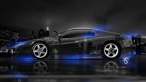 Blue Neon Wallpaper Blue Lightning Lamborghini by 512 City Car 2014 El Tony