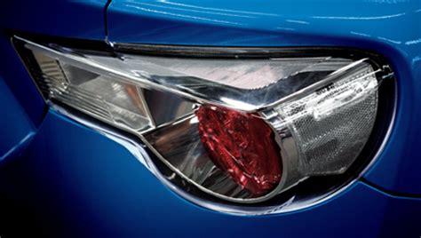 2015 brz tail lights exterior 2015 brz subaru canada