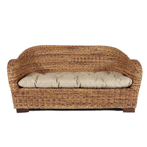 canapé rotin canapé en rotin maison achat canapé rotin deux places
