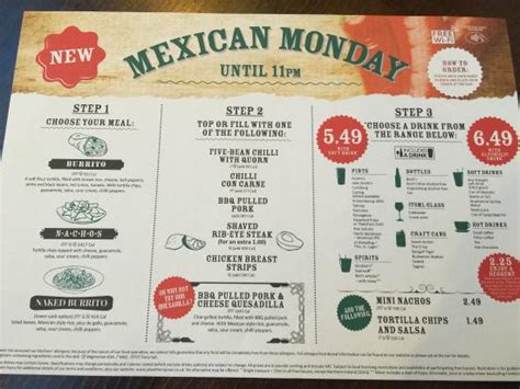 Mexican Monday our brand new club day - Picture of The ...
