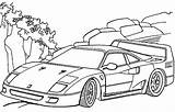 Ferrari Coloring Pages F40 Cars Drawing Printable Getdrawings Enzo Print Getcolorings Pag sketch template