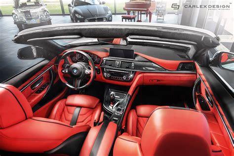 bmw supercar interior official bmw 4 series convertible by carlex design gtspirit