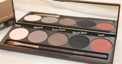 blonde louise young essential eyeshadow palette