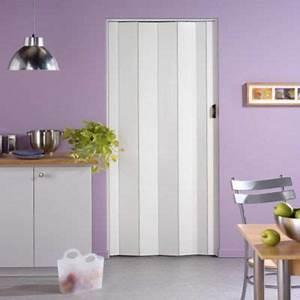 Porte extensible PVC CARA Blanc CASTORAMA