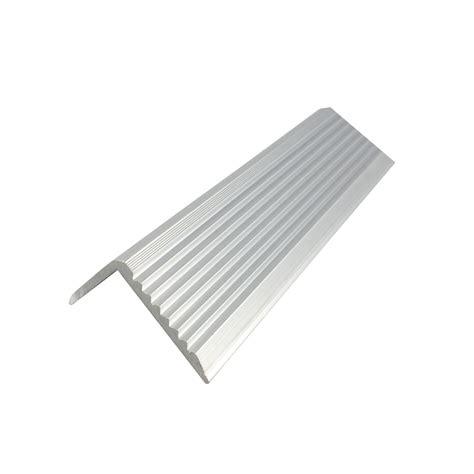 tile stair nosing bunnings metal mate 43 2 x 23mm x 2m aluminium stair nosing