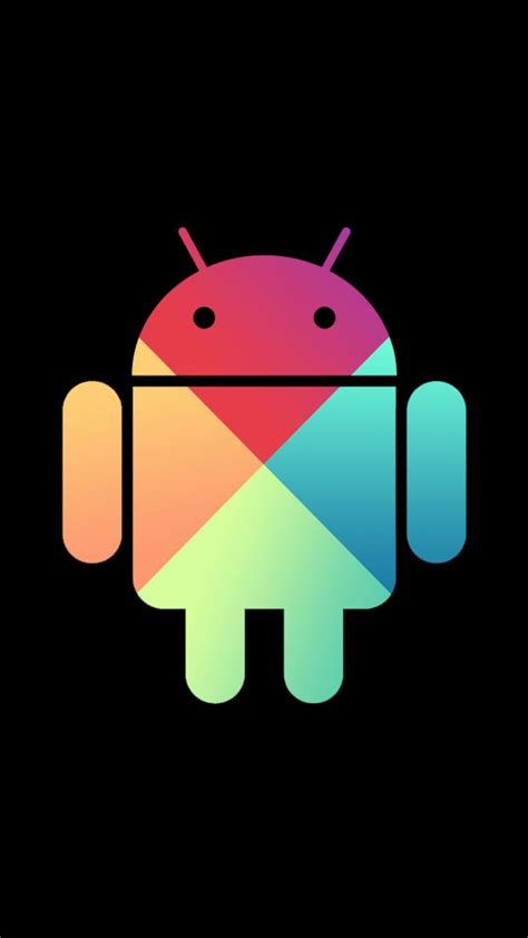 google nexus android logo colors android wallpaper
