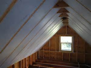 how to insulate a cathedral ceiling in a house apps