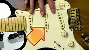 How To Replace Fender Stratocaster Pickup Covers
