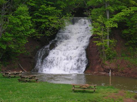 NY Falls -- Glen Falls, Orleans Co., NY