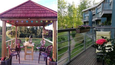 Foto: Lapenes, terases un balkoni, kas cīnās par uzvaru ...
