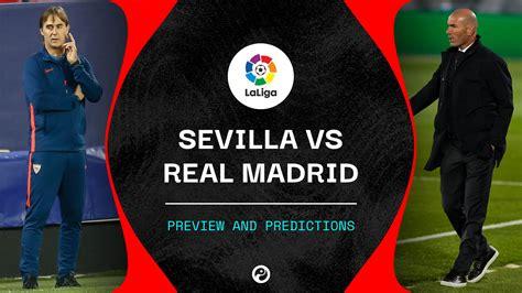 Sevilla vs Real Madrid live stream: Watch La Liga online