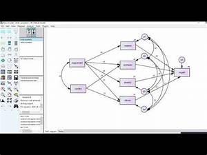 Multigroup Path Analysis Using Amos Video 1