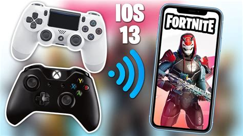 ios   supports ps  xbox controllers  fortnite