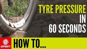 Conversion Table Chart How To Set Mtb Tyre Pressure In 60 Seconds Youtube