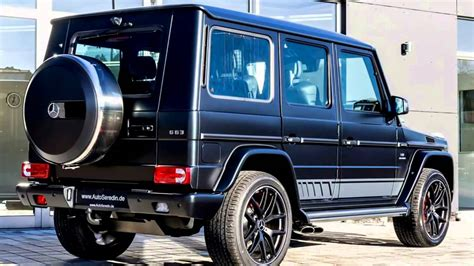 Mercedes Benz G63 Amg 2017 Special Edition