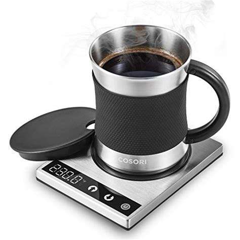 Coffee is just over 5 inches wide, providing a roomy you can keep your coffee or other warm beverage hot and ready while also keeping your devices. The Best Coffee Mug Warmer Plate of 2019 - Top 10, Best ...