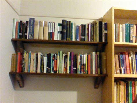 Ideas For Make Wall Mounted Bookshelves