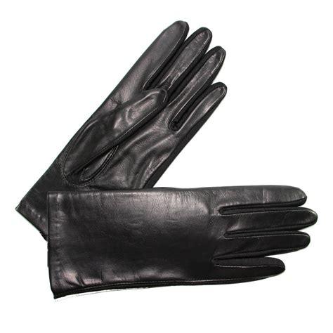 gants cuisine anti chaleur gants cuir et fourchette lycra femme noir glove