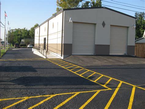 parking lot paving