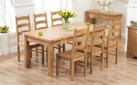 6 seat kitchen table oak dining table sets great furniture trading company