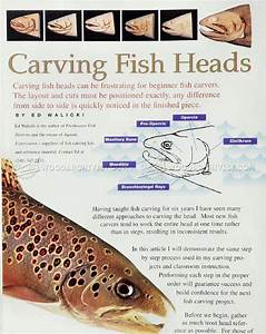 Carving Fish Heads - Wood Carving Patterns • WoodArchivist