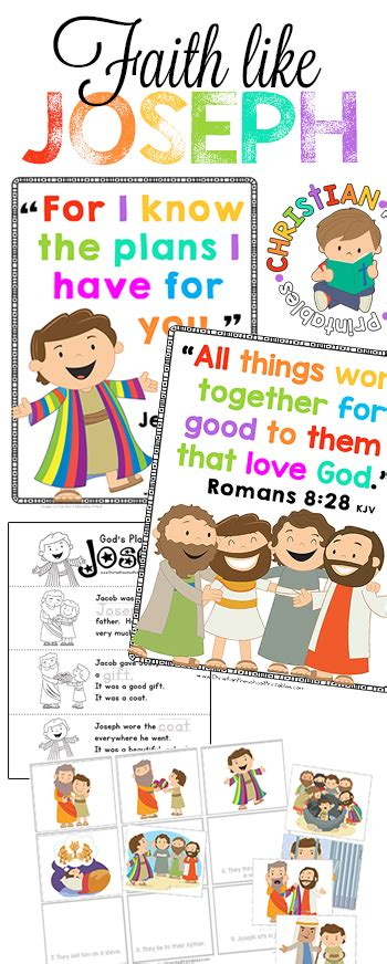 joseph bible printables christian preschool printables 683 | JosephBiblePrintables