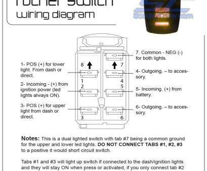 12v 6 pin rocker switch wiring diagram source: 6 Pin Illuminated Rocker Switch Wiring Diagram - Rocker Switch Wiring / 6 pin switch wiring ...