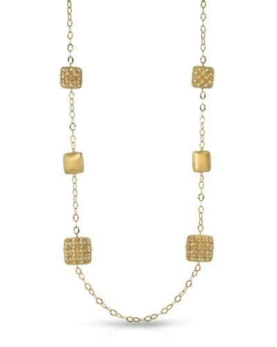 Millana Made In Italy Brand New Necklace 14k Yellow Gold