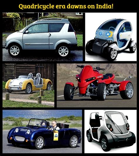 Government Approves Quadricycles For India