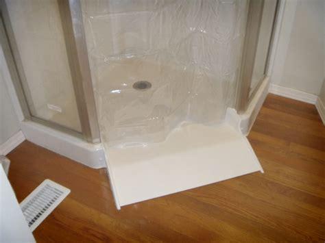 Ada Shower Threshold by Ameriglide Shower Roll In Conversion Kit Walk In Bathtubs