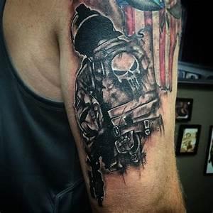 Tatouage Arriere Bras : tatouage avant bras homme militaire teuk ~ Melissatoandfro.com Idées de Décoration