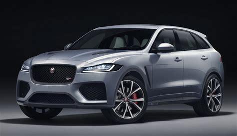 2019 jaguar f pace svr 2019 jaguar f pace svr unveiled with 550 horsepower