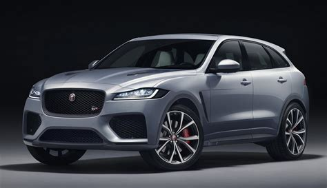 2019 Jaguar Fpace Svr Unveiled With 550 Horsepower