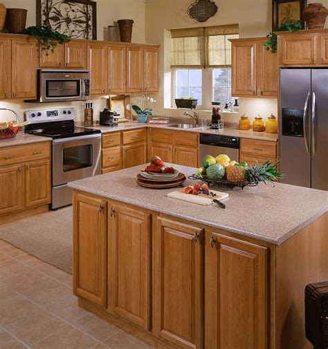 kitchens with light oak cabinets light cabinets kitchen bath cabinets 4 less 8795