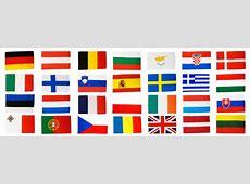 Flaggen Set Europäische Union EU 28 Staaten 90 x 150 cm