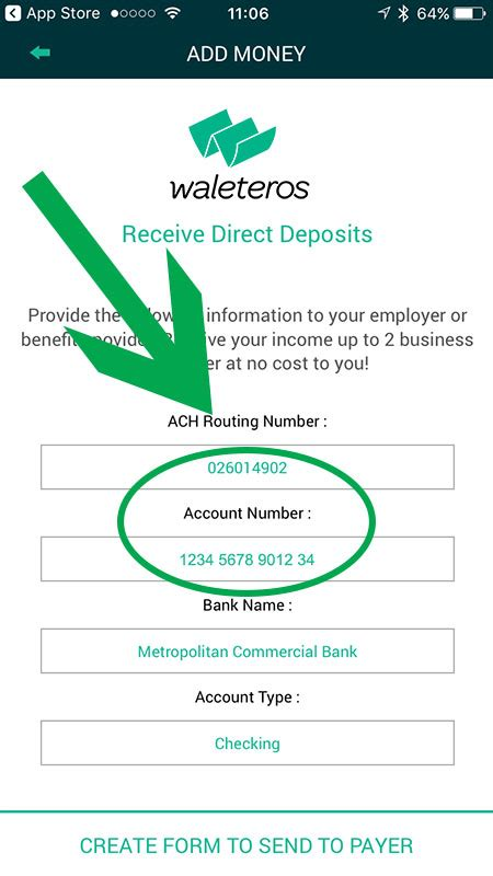 Direct deposit and the navia benefits card. Direct Deposit Form for the Waleteros Prepaid Card