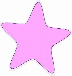 Bright Baby Pink Star Clip Art at Clker.com - vector clip ...