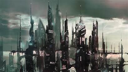 Futuristic Concept Artwork Cyberpunk Fantasy Wallpapers Asian