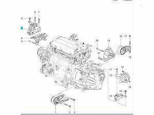 Used Opel Insignia 1 8 16v Ecotec Engine Mount - 13227712 A18xer