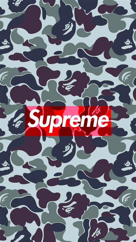 bape iphone wallpaper bape camo supreme iphone wallpaper hd Bape