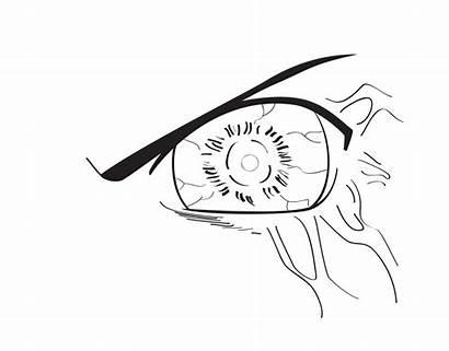 Byakugan Draw Eyes Step Naruto Hyuga Eye