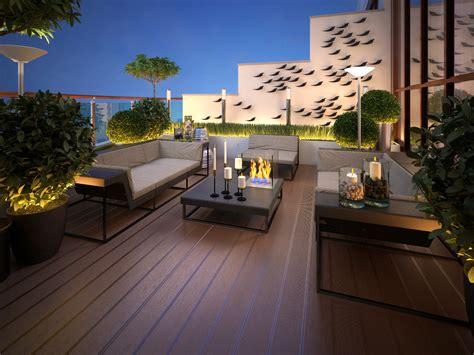 terrazzi di design terrazzi arredati prezzi consigli pratici idee
