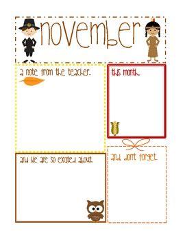november newsletter editable using adobe acrobat by 589 | original 371911 1