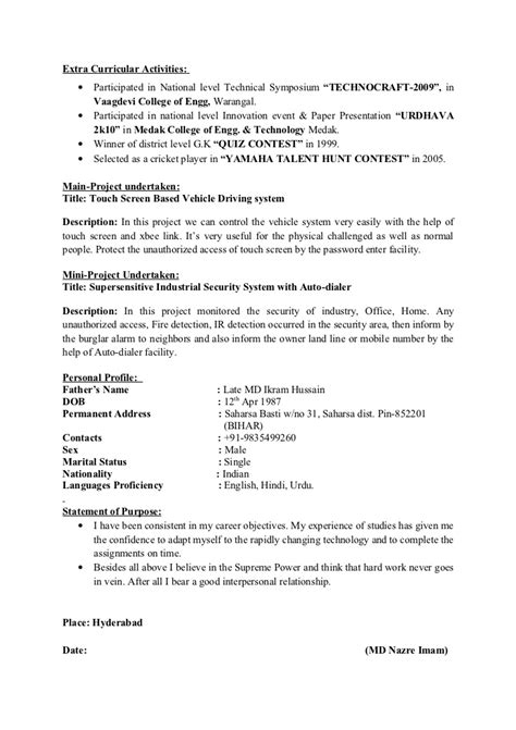 Curricular Activity In Resume by Resume Exles Skills Objective Relevant Experience Interest And Activities Athletic Resume